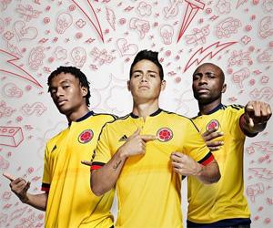 Camisas da Colômbia 2015-2016 Adidas Copa América capa