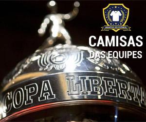Camisas das equipes da Libertadores da América 2015