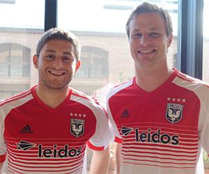 Camisas do DC United 2015 Adidas MLS capa