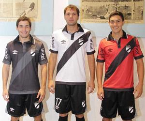 Camisas do Danubio do Uruguai 2014-2015 Umbro capa