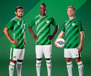 Camisas do Deportivo Cali 2015 Umbro capa