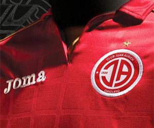 Camisas do Juan Aurich 2015 Joma capa