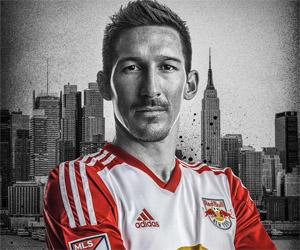Camisas do NY Red Bulls 2015 Adidas MLS capa