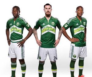 Camisas do Portland Timbers 2015 Adidas MLS capa