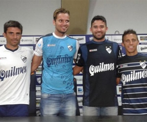 Camisas do Quilmes 2015 Lotto capa