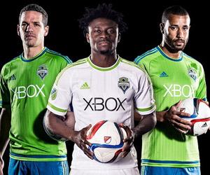 Camisas do Seattle Sounders 2015 Adidas MLS capa