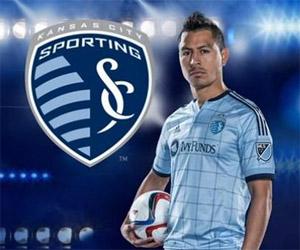 Camisas do Sporting Kansas City 2015 Adidas MLS capa