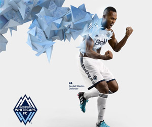 Camisas do Vancouver Whitecaps 2015 Adidas MLS capa