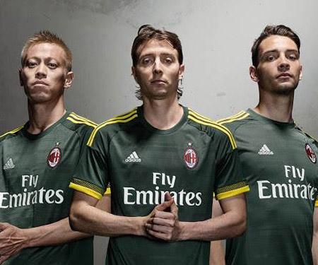 Terceira camisa do Milan 2015-2016 Adidas capa