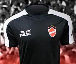 Terceira camisa preta do Vila Nova 2015 Pulse 2