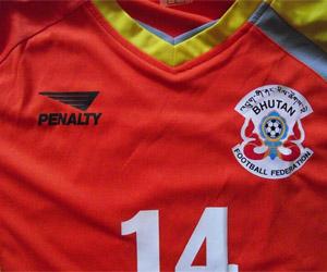 Camisa do Butão Penalty capa