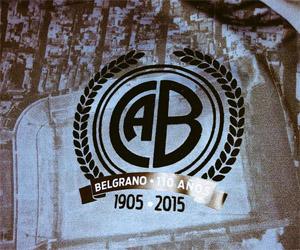 Camisa dos 110 anos do CA Belgrano Lotto bairro Alberdi capa
