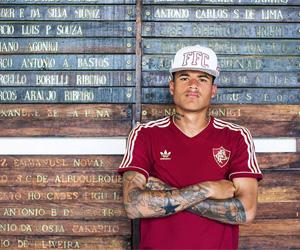Camisa retrô grená do Fluminense 2015 Adidas Originals capa