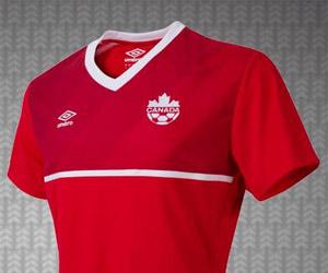 Camisas do Canadá 2015-2016 Umbro capa