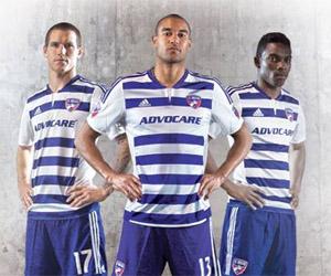 Camisas do Dallas FC 2015 Adidas MLS capa
