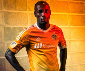 Camisas do Houston Dynamo 2015 Adidas MLS capa