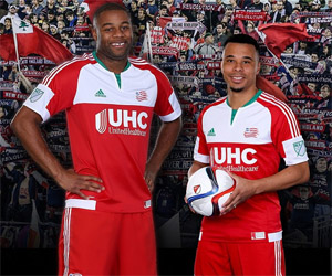 Camisas do New England Revolution 2015 Adidas MLS capa