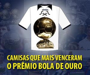 Camisas que mais venceram a Bola de Ouro capa