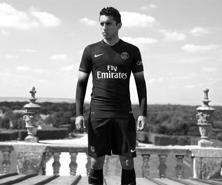 Terceira camisa do PSG 2015-2016 Nike capa