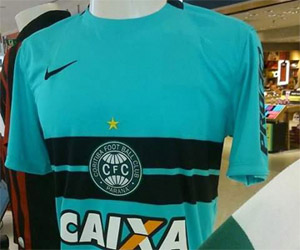 terceira camisa do Coritiba 2015 Nike capa