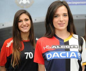 Camisa dividida da Udinese 2015 The Split #DaciaSponsorDay capa