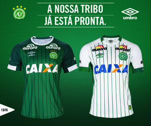 Camisas da Chapecoense 2014-2015 Umbro Capa
