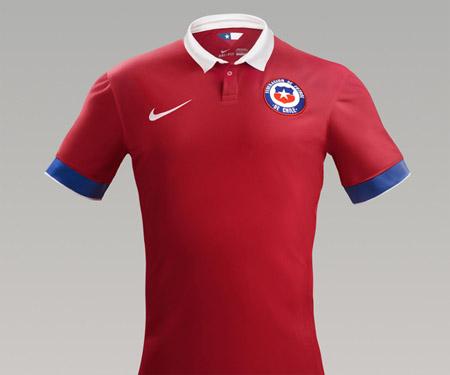 Camisas do Chile 2015-2016 Nike Reserva capa