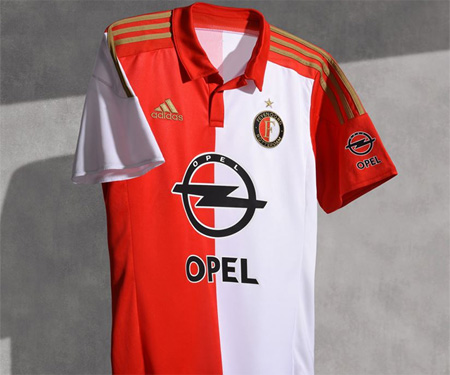Camisas do Feyenoord 2015-2016 Adidas capa