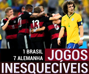 Jogos Inesquecíveis - Brasil 1 x 7 Alemanha capa