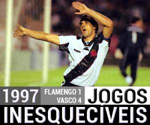 Jogos Inesquecíveis Flamengo 1 x 4 Vasco (1997) capa