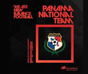 Panamá assina com a New Balance Football capa
