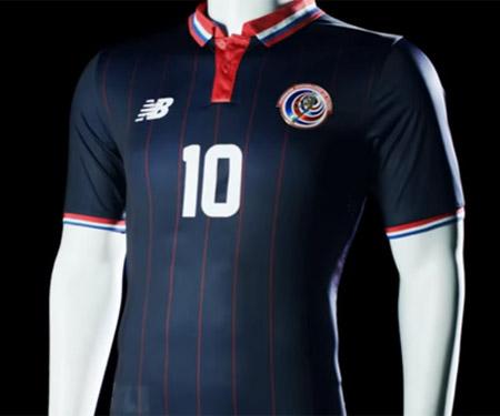 Terceira camisa da Costa Rica 2015-2016 New Balance capa