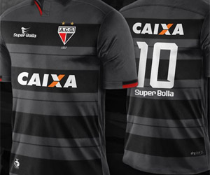 Terceira camisa do Atlético-GO 2015-2016 Super Bolla capa