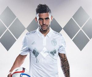 Terceira camisa do Sporting Kansas City 2015 MLS capa