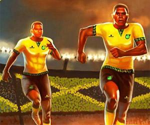 Camisas da Jamaica 2015-2016 Romai Copa América capa