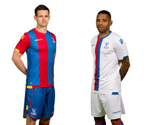 Camisas do Crystal Palace 2015-2016 Macron capa