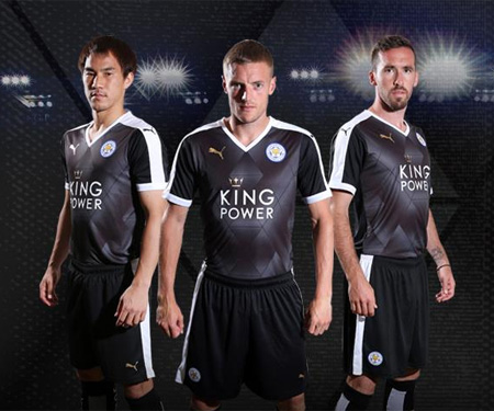 Camisas do Leicester 2015-2016 Puma Reserva capa