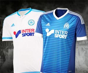 Camisas do Olympique de Marselha 2015-2016 Adidas capa