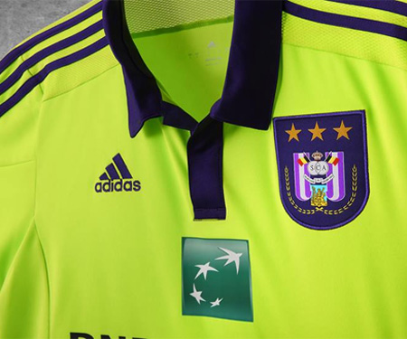 Camisas do RSC Anderlecht 2015-2016 Adidas Reserva capa