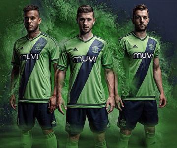 Camisas do Southampton 2015-2016 Adidas Reserva capa