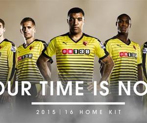 Camisas do Watford FC 2015-2016 Puma capa