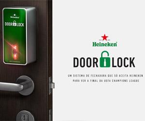 Heineken Door Lock capa
