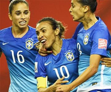 Camisas da seleção feminina do Brasil 2015-2016 Nike Azul capa