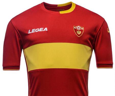 Camisas de Montenegro 2015-2016 Legea capa