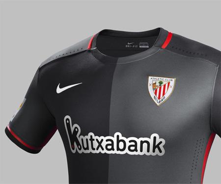 Camisas do Athletic Bilbao 2015-2016 Nike Reserva capa