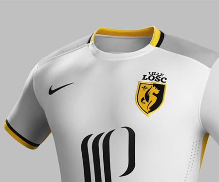 Camisas do Lille OSC 2015-2016 Reserva capa