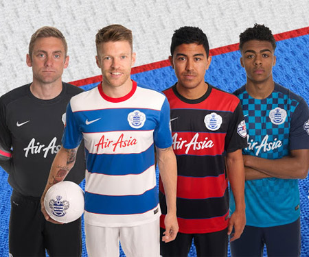 Camisas do Queens Park Rangers 2015-2016 Nike capa