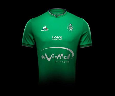 Camisas do Saint-Etienne 2015-2016 Le Coq Sportif capa