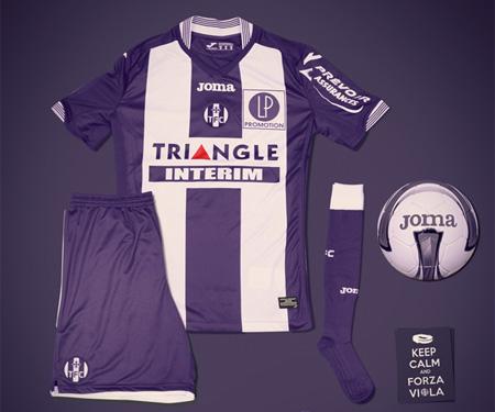 Camisas do Toulouse FC 2015-2016 Joma capa