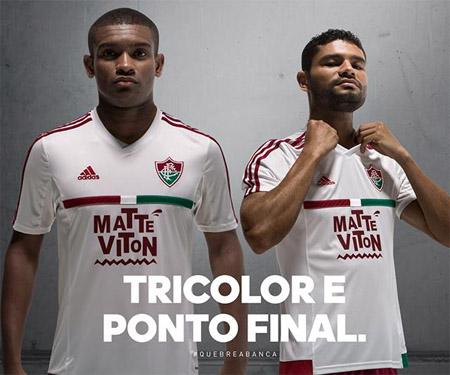 Camisa reserva do Fluminense 2015-2016 Adidas capa